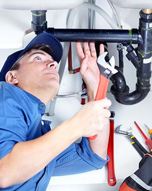Residential plumbing work